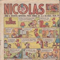Tebeos: COMIC COLECCION NICOLAS Nº 94. Lote 46096087