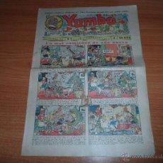 Tebeos: YUMBO Nº 112 EDITORIAL HISPANO AMERICANA ENERO 1937. Lote 46219210