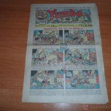 Tebeos: YUMBO Nº 125 EDITORIAL HISPANO AMERICANA ABRIL 1937. Lote 46220674