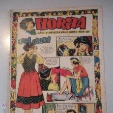 Tebeos: - FLORITA - REVISTA PARA NIÑAS-Nº 180 - AÑO V - DE EDICIONES CLIPER - ORIGINAL -DE LOS AÑOS 50 -. Lote 46596917