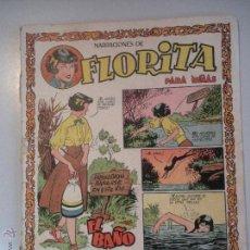 Tebeos: -HISTORIETAS DE - FLORITA - REVISTA PARA NIÑAS- DE EDICIONES CLIPER - ORIGINAL - DE LOS AÑOS -50-. Lote 46597135