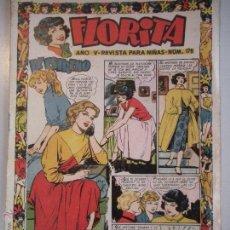 Tebeos: -FLORITA - REVISTA PRA NIÑAS - Nº 176 - AÑO -V- DE EDICIONES CLIPER - ORIGINAL - DE LOS AÑOS. Lote 46610018