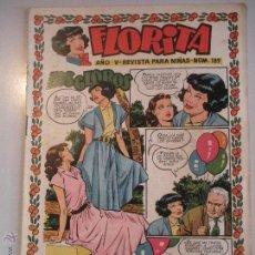 Tebeos: - FLORITA - REVISTA PARA NIÑAS-Nº 189 - AÑO V - EDICIONES CLIPER - ORIGINAL -DE LOS AÑOS 50 -. Lote 46610019