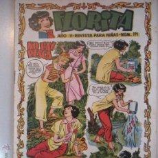 Tebeos: - FLORITA - REVISTA PARA NIÑAS-Nº 191 - AÑO V - DE EDICIONES CLIPER - ORIGINAL -DE LOS AÑOS 50 -. Lote 46610027