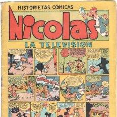 Tebeos: NICOLAS Nº 6 ORIGINAL EDICIONES CLIPER 1948. Lote 46743999