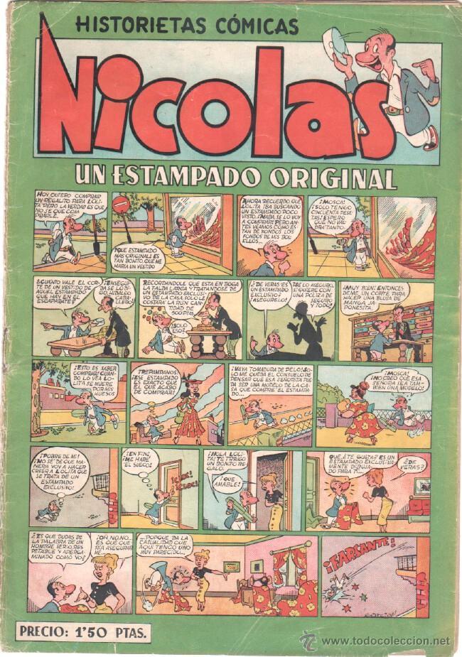 NICOLAS Nº 7 ORIGINAL EDICIONES CLIPER 1948 (Tebeos y Comics - Cliper - Nicolas)