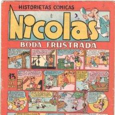 Tebeos: NICOLAS Nº 8 ORIGINAL EDICIONES CLIPER 1948. Lote 46744028
