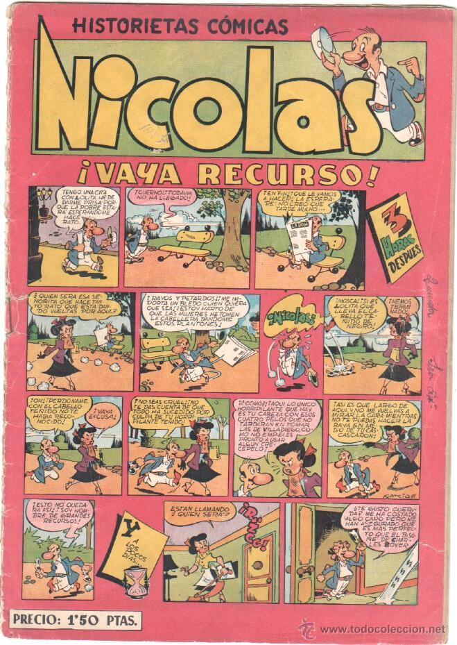 NICOLAS Nº 11 ORIGINAL EDICIONES CLIPER 1948 (Tebeos y Comics - Cliper - Nicolas)