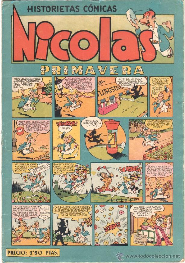 NICOLAS Nº 13 ORIGINAL EDICIONES CLIPER 1948 (Tebeos y Comics - Cliper - Nicolas)