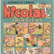 Tebeos: NICOLAS Nº 13 ORIGINAL EDICIONES CLIPER 1948. Lote 46930275