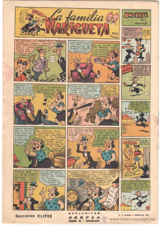 Tebeos: NICOLAS Nº 13 ORIGINAL EDICIONES CLIPER 1948 - Foto 2 - 46930275