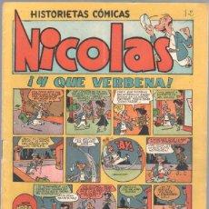 Tebeos: NICOLAS Nº 14 ORIGINAL EDICIONES CLIPER 1948. Lote 46930288