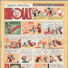 Tebeos: NICOLAS Nº 80 ORIGINAL EDICIONES CLIPER 1948. Lote 46930476