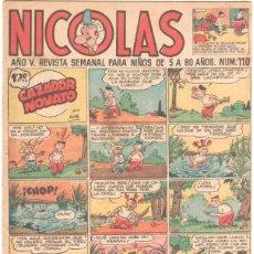 Tebeos: NICOLAS Nº 110 ORIGINAL EDICIONES CLIPER 1948. Lote 46948940