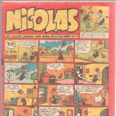 Tebeos: NICOLAS Nº 112 ORIGINAL EDICIONES CLIPER 1948. Lote 46948951