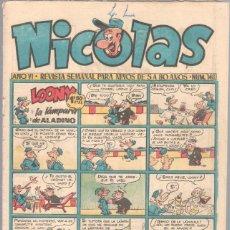 Tebeos: NICOLAS Nº 146 ORIGINAL EDICIONES CLIPER 1948. Lote 46949077