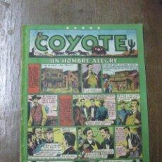 Tebeos: EL COYOTE Nº 20. EDICIONES CLIPER. ORIGINAL.. Lote 47042290