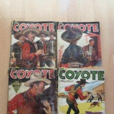 Tebeos: EL COYOTE_ J. MALLORQUI_1945-1946-1950_CLIPER.. Lote 47216914