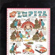 Tebeos: COLECCION LUPITA PARA NIÑAS. LA BUENAVENTURA. Nº 19. EDICIONES CLIPER. Lote 47482875