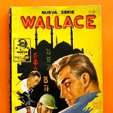 Livros de Banda Desenhada: NUEVA SERIE WALLACE - Nº3 - ESPIAS EN BOMBAY - POR ALVA LA ROCHE - EDICIONES CLIPER -. Lote 47568956