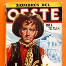 Tebeos: HOMBRES DEL OESTE - Nº 21 - LA DEFENSA DEL ALAMO - POR J. LEÓN - EDICIONES CLIPER -. Lote 48864135