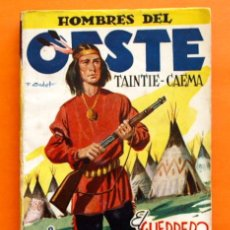 Tebeos: HOMBRES DEL OESTE - Nº 60 - EL GUERRERO DE LA CARA PARTIDA - POR J. LEÓN - EDICIONES CLIPER -. Lote 47671404