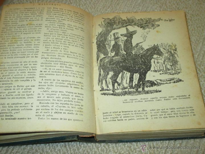 Tebeos: Dos tomos con 20 novelas de El Coyote de Cliper, contienen los primeros cinco números, 1ª Ed. - Foto 5 - 47715700