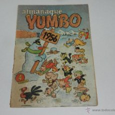 Tebeos: (M-9) ALMANAQUE YUMBO 1956 , EDC CLIPER, SEÑALES DE USO. Lote 48284178