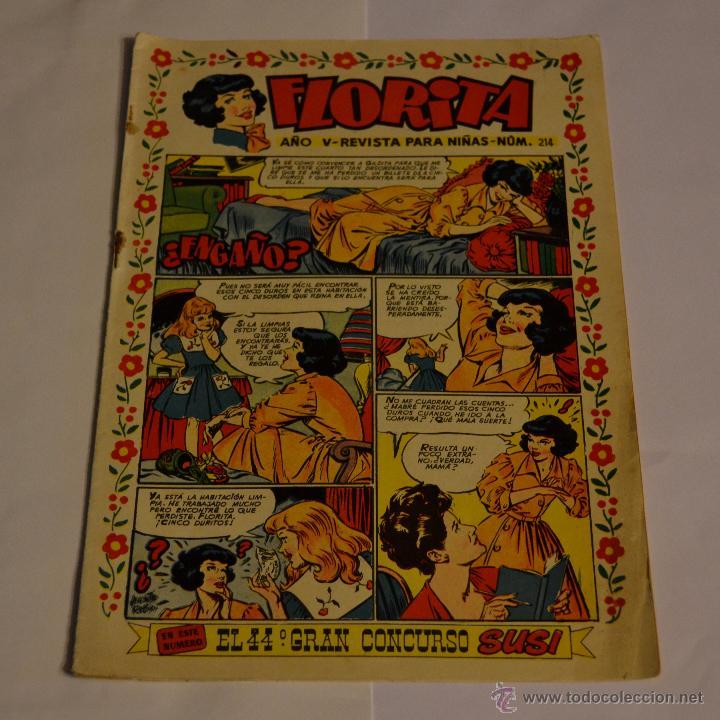 FLORITA Nº 214. LITERACOMIC. (Tebeos y Comics - Cliper - Florita)