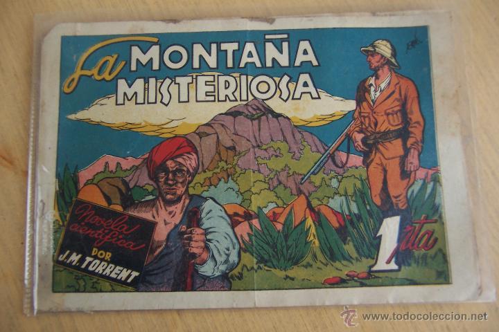 CLIPER - CISNE. AVENTURAS CELEBRES Nº LA MONTAÑA MISTERIOSA (Tebeos y Comics - Cliper - Otros)