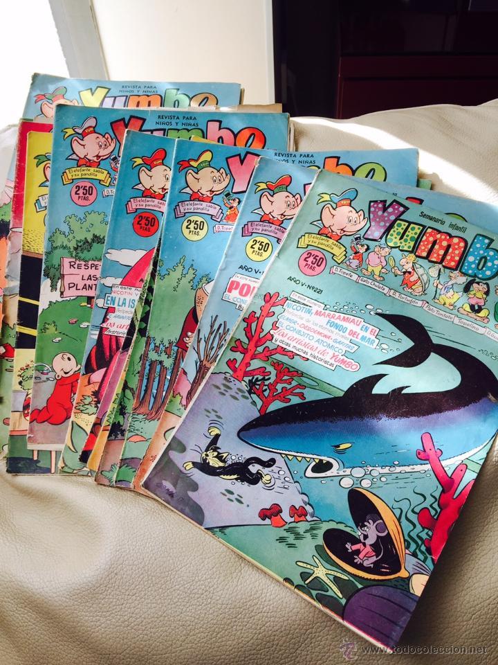 YUMBO ORIGINALES AÑO V NUMEROS 221,222,225,226,229,230,233,234 Y 235 6 € UNIDAD (Tebeos y Comics - Cliper - Yumbo)