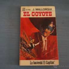 Tebeos: NOVELA DE:EL COYOTE,Nº82,AÑO 1968,DE J.MALLORQUI. Lote 49681856