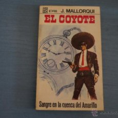 Tebeos: NOVELA DE:EL COYOTE,Nº81,AÑO 1968,DE J.MALLORQUI. Lote 49681861