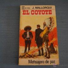 Tebeos: NOVELA DE:EL COYOTE,Nº39,AÑO 1968,DE J.MALLORQUI. Lote 49681880