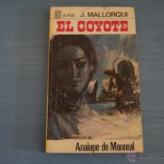 Tebeos: NOVELA DE:EL COYOTE,Nº70,AÑO 1968,DE J.MALLORQUI. Lote 49681947
