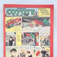 Tebeos: CÓMIC NUEVO COYOTE - AÑO VI, Nº 141 - JOHNNY COMETA EN PORTADA - EDICIONES CLIPER. Lote 49684140