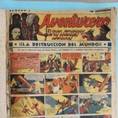 Tebeos: AVENTURERO DE 1935 -118 NUMEROS ENCUADERNADOS DEL 1 AL 118. Lote 49752358