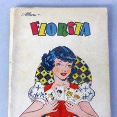 Tebeos: FLORITA NARRACIONES NIÑAS CLIPER 1949 12 NÚMEROS CONSECUTIVOS DEL 85 AL 96 INCLUIDOS ENCUADERNADOS . Lote 50390480