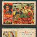 Tebeos: TEBEOS-COMICS CANDY - INTREPIDO ARIZONA - CISNE - 1942 - Nº 13 - MUY RARO Y DIFICIL *CC99. Lote 50452072