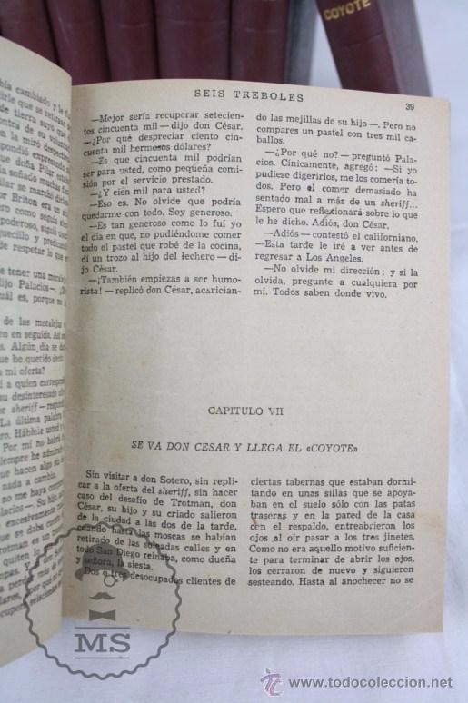 Tebeos: Colección de 10 Tomos con Números Encuadernados de El Coyote - Ed. Cliper - Incompleta - Foto 3 - 50494688