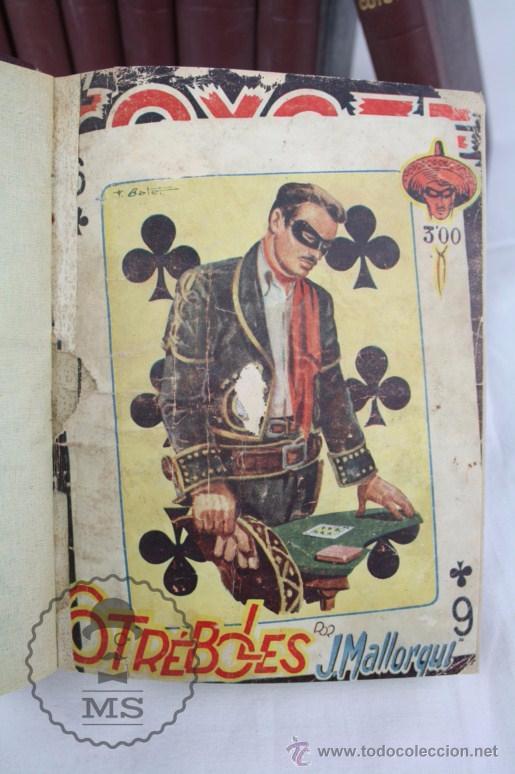 Tebeos: Colección de 10 Tomos con Números Encuadernados de El Coyote - Ed. Cliper - Incompleta - Foto 5 - 50494688