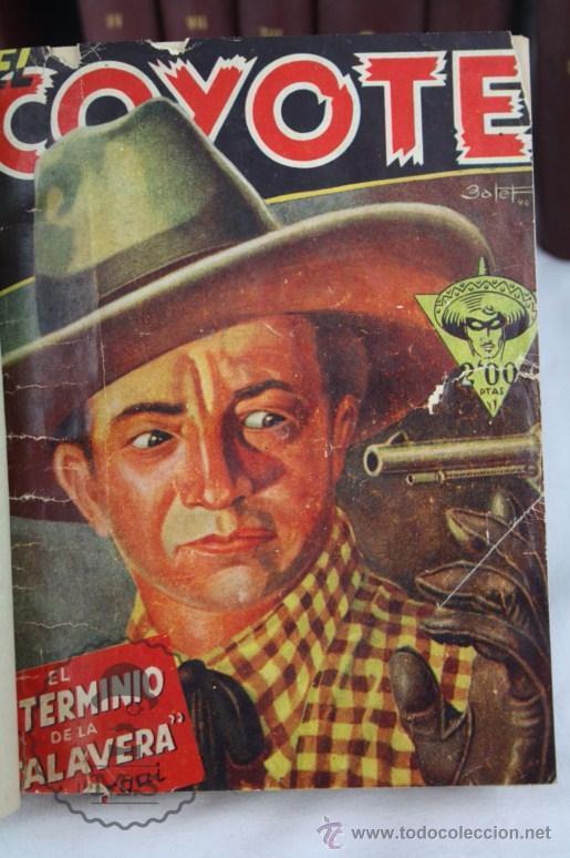 Tebeos: Colección de 10 Tomos con Números Encuadernados de El Coyote - Ed. Cliper - Incompleta - Foto 10 - 50494688