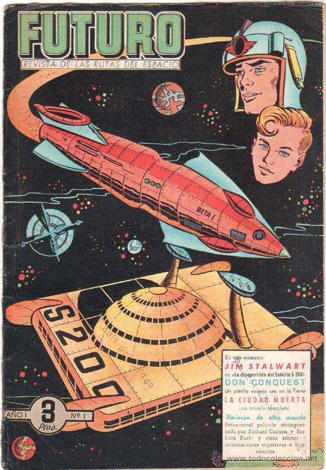 FUTURO ORIGINAL, COMPLETA Y SUELTA , 1 AL 20 EDICIONES CLIPER 1957, RARÍSIMO ENCONTRARLA COMPLETA (Tebeos y Comics - Cliper - Otros)