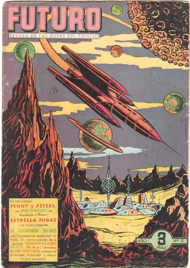 Tebeos: FUTURO ORIGINAL, COMPLETA Y SUELTA , 1 AL 20 EDICIONES CLIPER 1957, RARÍSIMO ENCONTRARLA COMPLETA - Foto 3 - 50746912