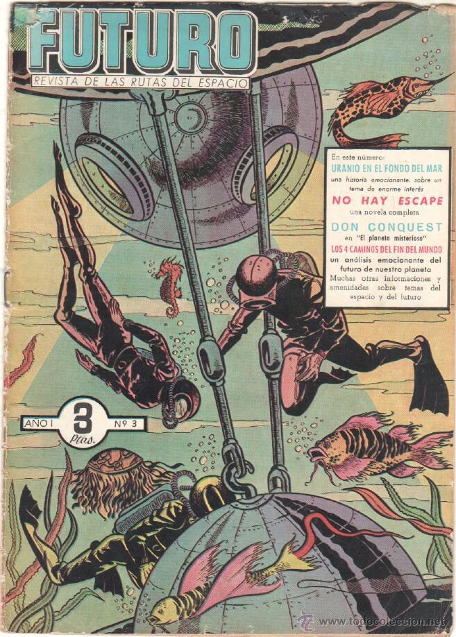 Tebeos: FUTURO ORIGINAL, COMPLETA Y SUELTA , 1 AL 20 EDICIONES CLIPER 1957, RARÍSIMO ENCONTRARLA COMPLETA - Foto 4 - 50746912