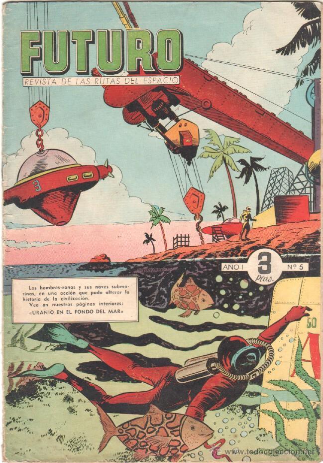 Tebeos: FUTURO ORIGINAL, COMPLETA Y SUELTA , 1 AL 20 EDICIONES CLIPER 1957, RARÍSIMO ENCONTRARLA COMPLETA - Foto 6 - 50746912