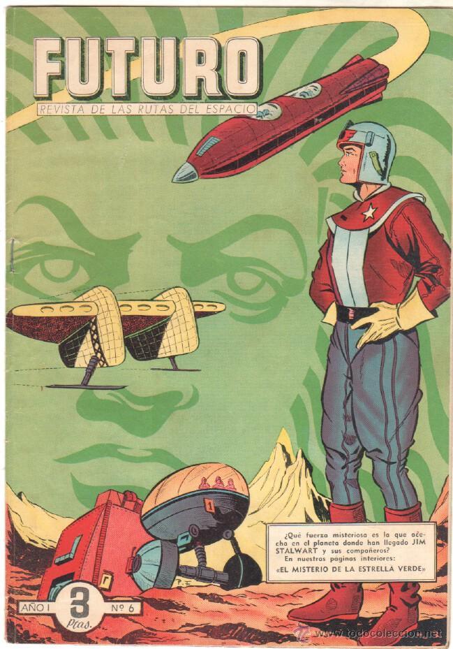 Tebeos: FUTURO ORIGINAL, COMPLETA Y SUELTA , 1 AL 20 EDICIONES CLIPER 1957, RARÍSIMO ENCONTRARLA COMPLETA - Foto 7 - 50746912