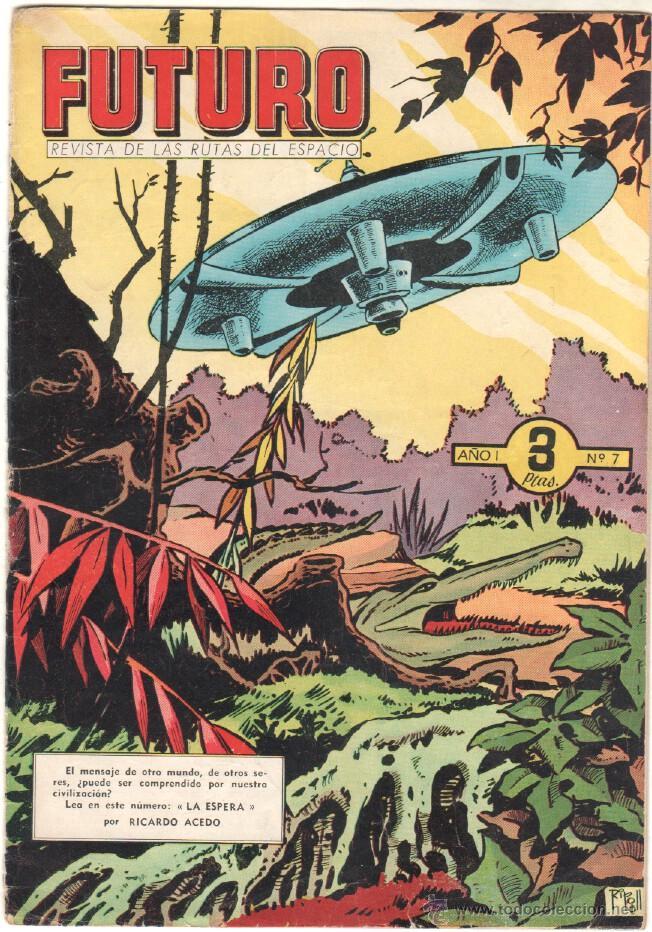 Tebeos: FUTURO ORIGINAL, COMPLETA Y SUELTA , 1 AL 20 EDICIONES CLIPER 1957, RARÍSIMO ENCONTRARLA COMPLETA - Foto 9 - 50746912