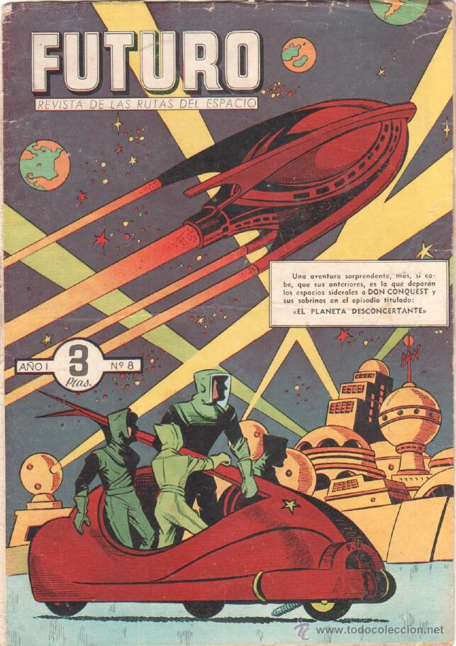 Tebeos: FUTURO ORIGINAL, COMPLETA Y SUELTA , 1 AL 20 EDICIONES CLIPER 1957, RARÍSIMO ENCONTRARLA COMPLETA - Foto 10 - 50746912
