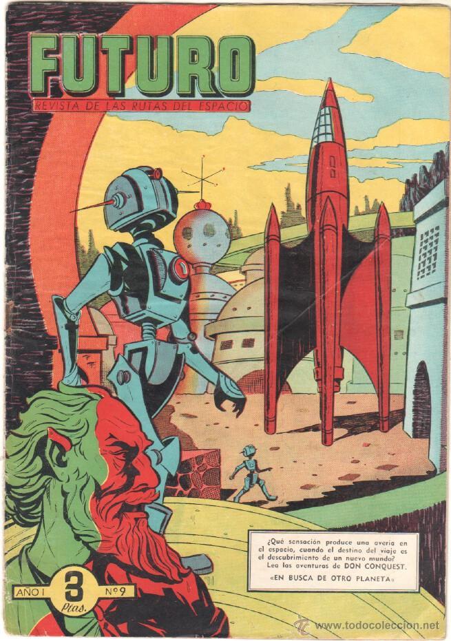 Tebeos: FUTURO ORIGINAL, COMPLETA Y SUELTA , 1 AL 20 EDICIONES CLIPER 1957, RARÍSIMO ENCONTRARLA COMPLETA - Foto 11 - 50746912